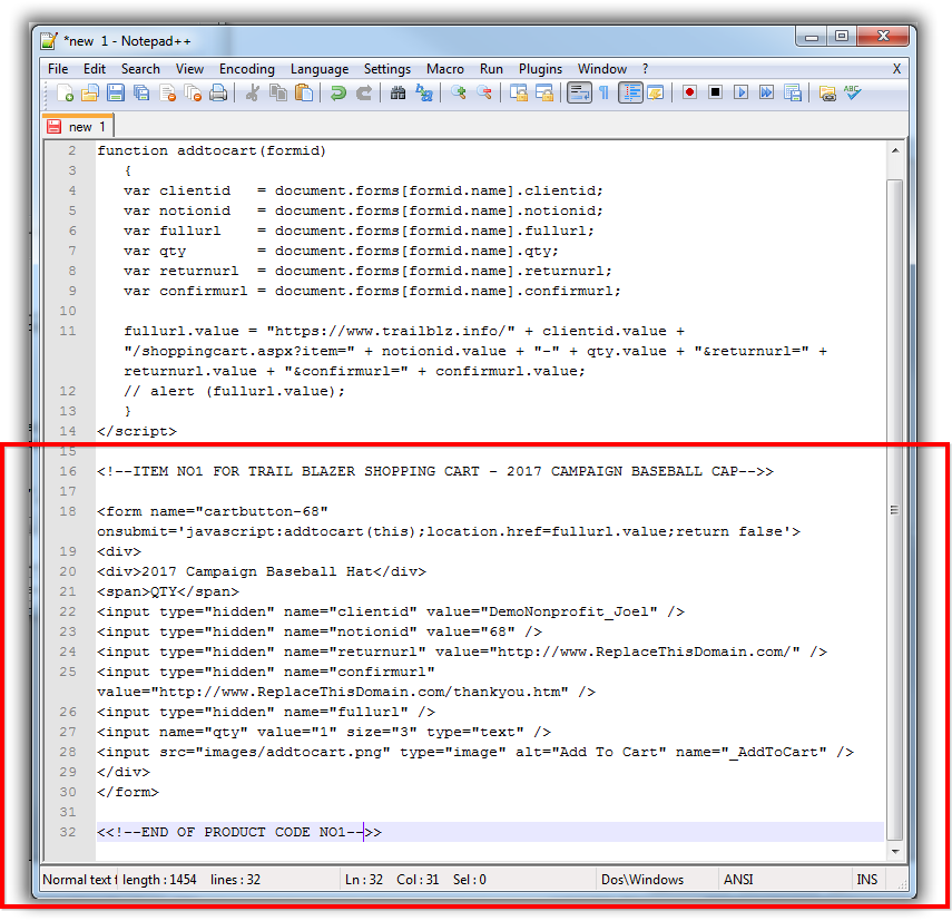 How to create a homepage button in html code on notepad pdf