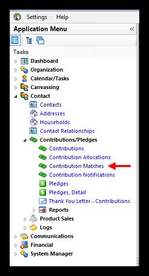 Trail Blazer Matching Contributions - Setup Companies Orgs