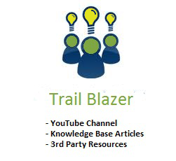 Trail Blazer Knowledge Base Logo