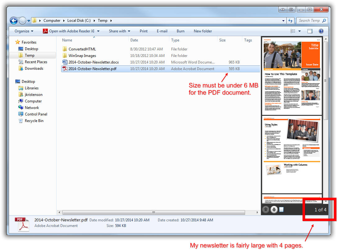 Trail Blazer How to Create a Hyperlink around a Screenshot