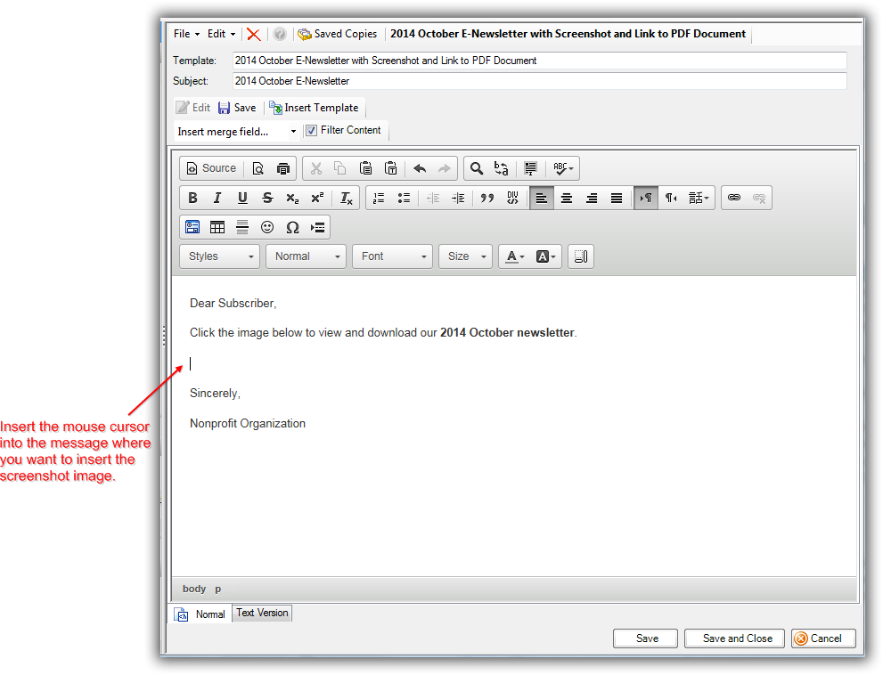 unable to click on a pdf in email
