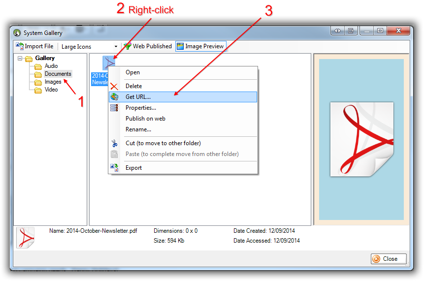 Trail Blazer How to Create a Hyperlink around a Screenshot of your
