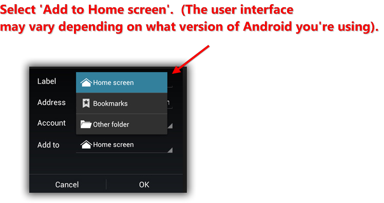how to add pdf to home screen android